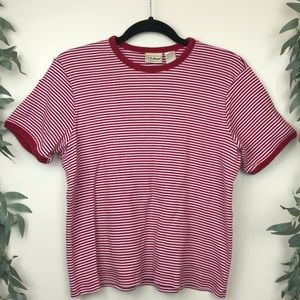 90s LL Bean Ribbed T Shirt Vintage Oversize